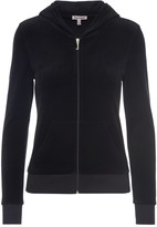 Juicy Couture Outlet - LOGO VELOUR VARSITY COUTURE ROBERTSON JACKET