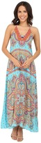 Hale Bob Punch Paisley Maxi Dress