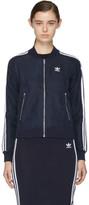 adidas Navy Superstar Track Jacket