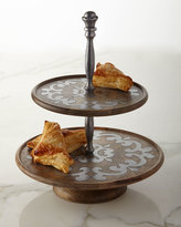 GG Collection G G Collection Heritage Two-Tiered Serving Stand