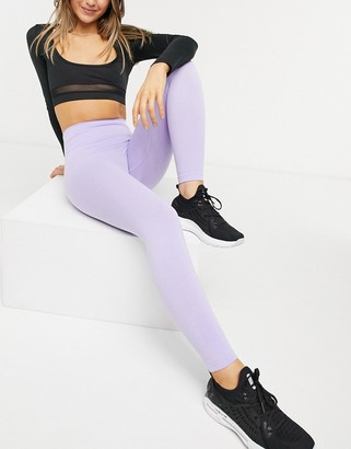 Chi Chi London Kellie gym legging co-ord in lilac