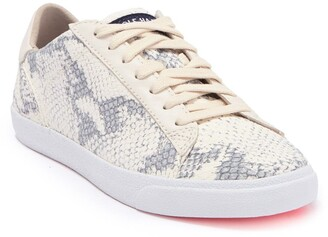 Cole Haan Carrie Snake Print Leather Sneaker