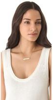Jennifer Zeuner Jewelry Protected Necklace with Diamond