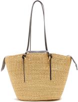 Muun Racco large woven-straw tote