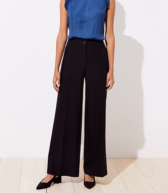 LOFT Tall High Waist Wide Leg Trousers