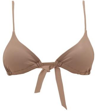 Casa Raki - Cindy Triangular-cup Bikini Top - Beige