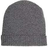 Barneys New York Men's Cashmere Rib-Knit Hat