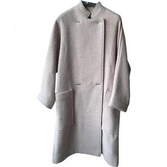 Paul & Joe Pink Wool Coat for Women