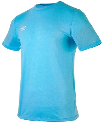 Umbro Men's Fw Small Logo Cotton Tee Undershirt