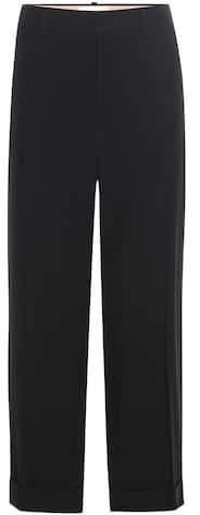 Chloé Cuffed straight-leg trousers
