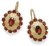 Tatitoto Gioie Women's Earrings in 18k Gold with Garnet, 6.4 Grams