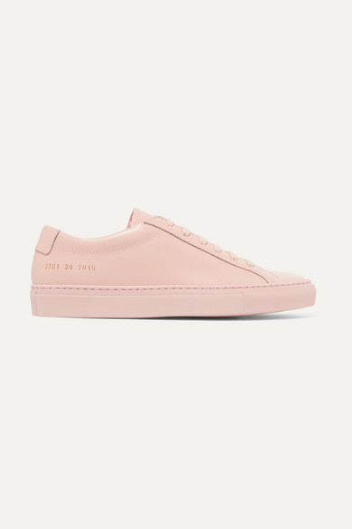 Common Projects Original Achilles Leather Sneakers - Pink