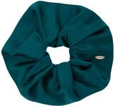 Sophie Buhai SSENSE Exclusive Green Elegant Scrunchie