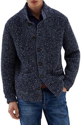 Brunello Cucinelli Melange Cashmere & Wool-Blend Cardigan
