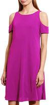 Lauren Ralph Lauren Jersey Cutout A-Line Dress