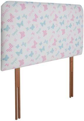 Airsprung Kids DivanHeadboard - Butterfly Print