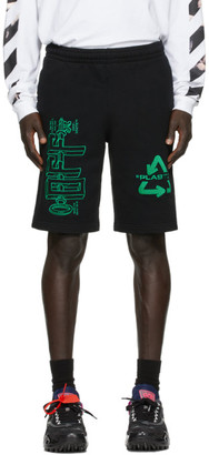 Off-White Black Universal Key Sweat Shorts