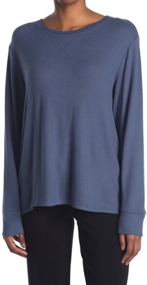 Free Press Hacci Knit Lounge Pullover