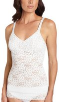 Bali Women's Shapewear Lace 'N Smooth Cami, White, X-Large