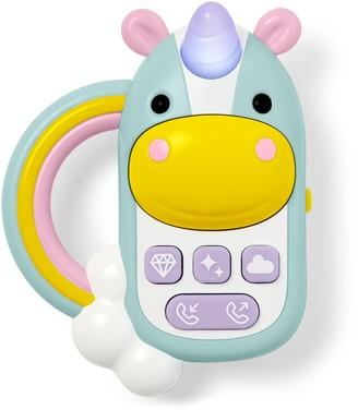 Skip Hop Zoo Unicorn Phone Toy