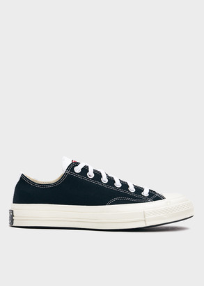 Converse Chuck 70 Low With Logo Play in White/Black/Desert Shoes, Size 8.5