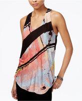 Rachel Roy Printed Tie-Back Top, Only at Macy's