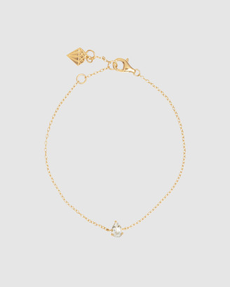 Wanderlust + Co Pear Topaz Gold Sterling Silver Bracelet