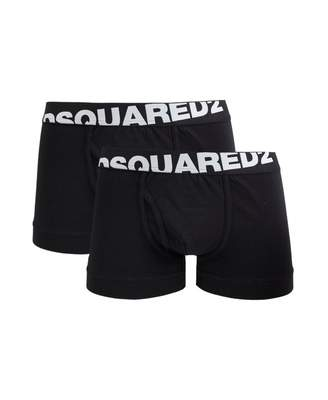 DSQUARED2 2 Pack Trunks Colour: BLACK, Size: SMALL