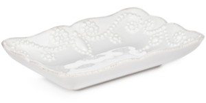 Lenox Bath French Perle Soap Dish Bedding