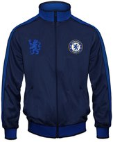Chelsea F.C. Chelsea Football Club Official Soccer Gift Mens Retro Track Top Jacket