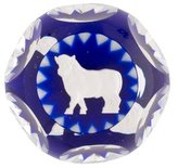 Baccarat Crystal Taurus Paperweight