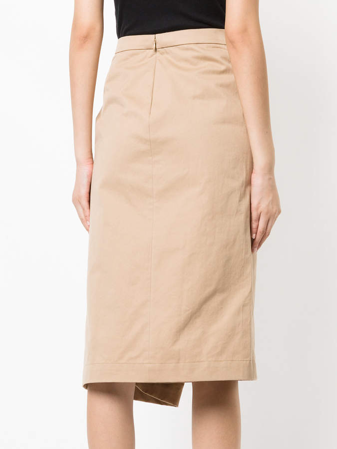 ASTRAET wrap pencil skirt