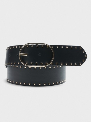 Banana Republic Studded Leather Belt