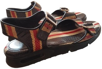 Givenchy Multicolour Leather Sandals