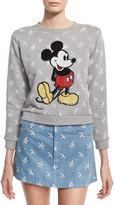 Marc Jacobs Mickey Mouse Sweatshirt, Gray