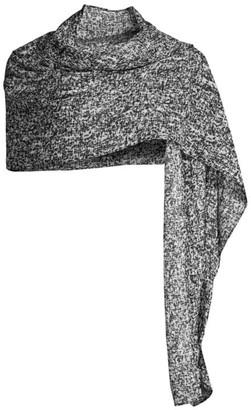 Eileen Fisher Draped Silk Wrap