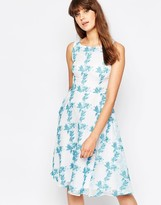 Traffic People Twirl Dress In Floral print