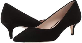 Cole Haan Vesta Pump (45mm) (Black Suede) Women's Shoes