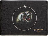 Givenchy Black Monkey Brothers Card Holder