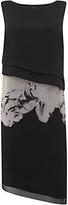 Mint Velvet Petra Print Layered Dress, Multi