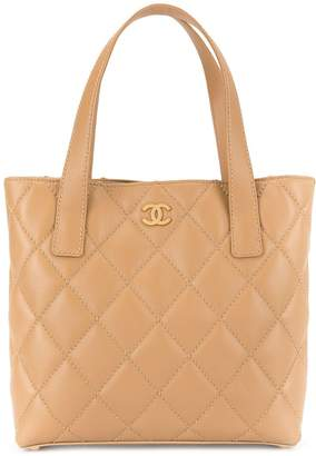 Chanel Pre-Owned 2004-2005 Wild Stitch Hand Tote Bag