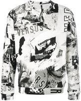 Versus graphic logo sweatshirt