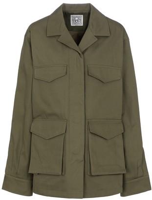 Totême Cotton twill cargo jacket