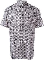 Maison Margiela pattern short sleeve shirt - men - Cotton - 39