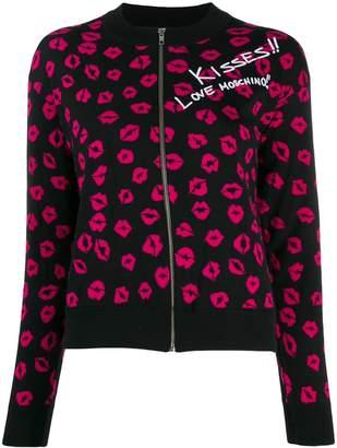 Love Moschino kisses cardigan