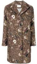 Etro Women's Brown Wool Coat.