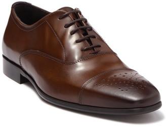 Bruno Magli Cole Cap Toe Leather Oxford