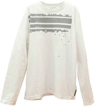 Christian Dior White Cotton Knitwear