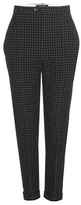 Isabel Marant Iola check-twill virgin wool trousers