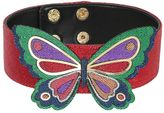 Manish Arora Butterfly Metallic Leather Choker